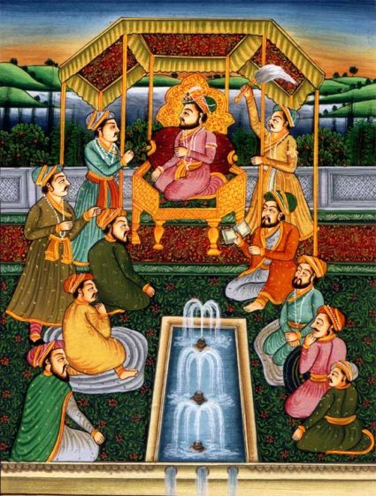 Mughal Paintings, Hindu and Persian Styles - India the Destiny