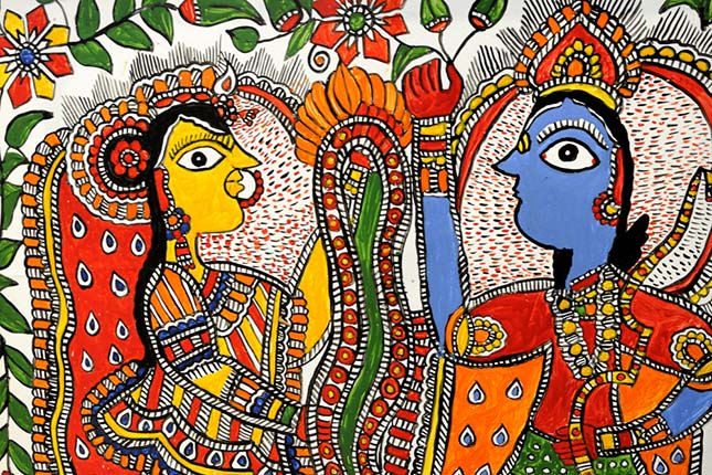 Indian Folk Art And Paintings - India the Destiny