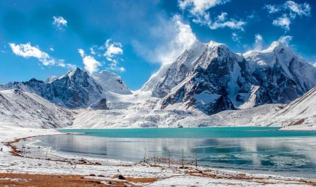 Image result for Cholamu lake