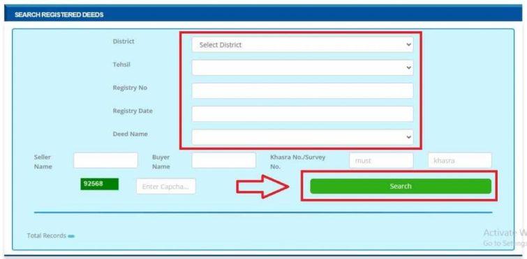 View Registered Deeds Details