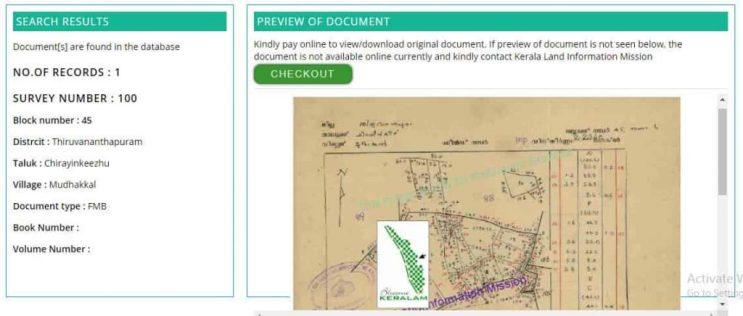 search in resurvey records