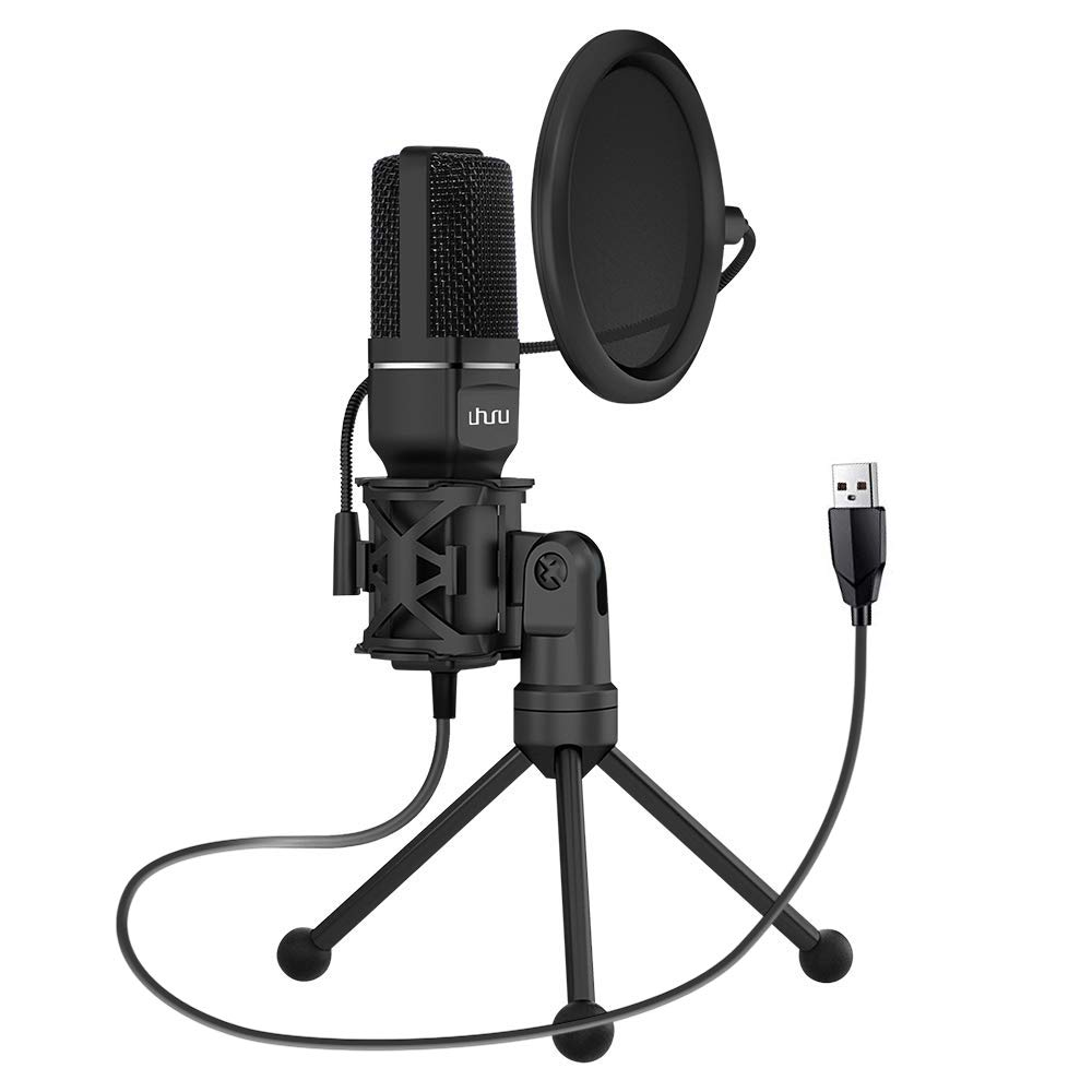 Best Cheapest Computer Condenser Mic for PC, Laptop Recording USB Condenser