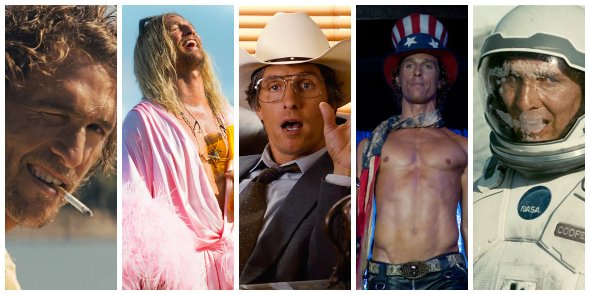 Top Matthew McConaughey Movies And TV Shows
