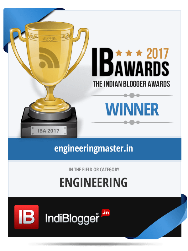 Winner of The Indian Blogger Awards 2017 - Science