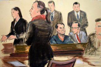Resultado de imagen para Fotos del juicio del Chapo Guzmán