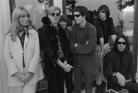 Le Velvet Underground with Nico and Andy Warhol, 1966