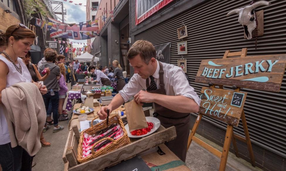 maltby street market londres