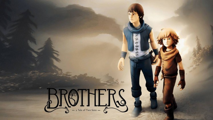 Brothers: A Tale of Two Sons Title