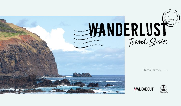 Wanderlust Travel Stories- Title Image