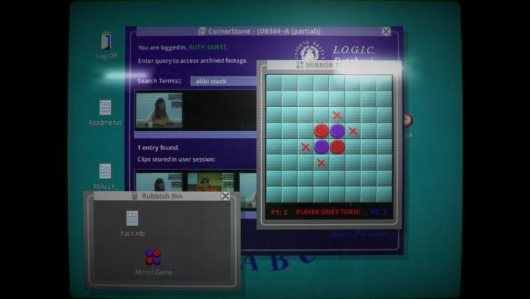 Her Story Minigame Screenshot