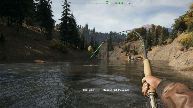 Far Cry 5 fishing screenshot