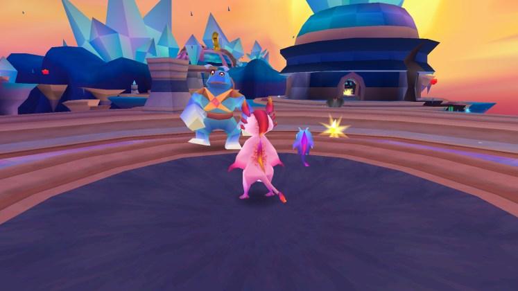 Screenshot of the Dark Rift level in Zera