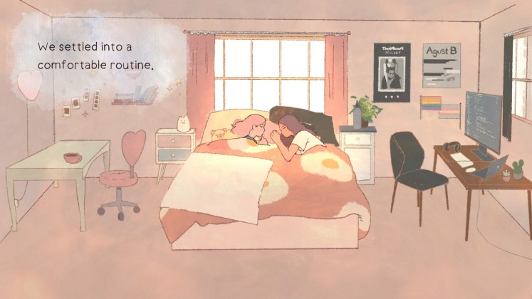 a new life Screenshot - We settled into a comfortable routine