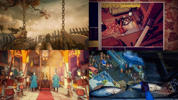 What Remains of Edith Finch Screenshots - Varying Art Styles