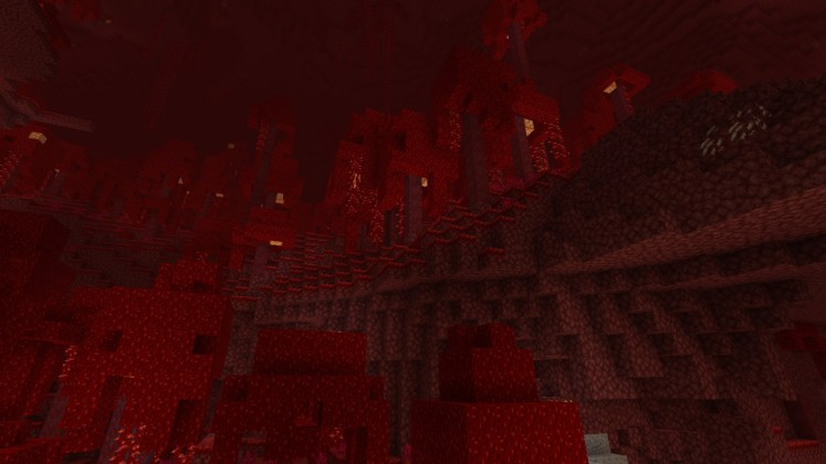 Nether Update - Crimson Forests