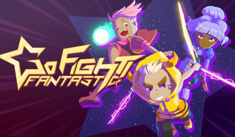 Go Fight Fantastic Key Art