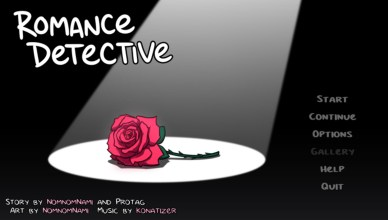Romance Detective Menu Screen- Featured Image