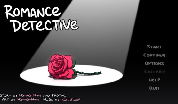 Romance Detective Menu Screen- Featured Image