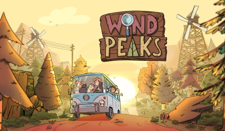 Wind Peaks - Cover Art and Logo