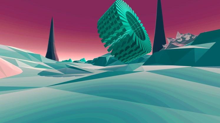 Inside the Void - Alien Structure