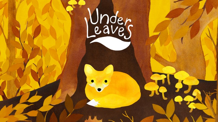Self Care Games - Under Leaves Key Art