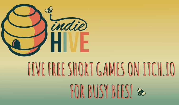 Five Free Short Games on itch.io - Featured Image