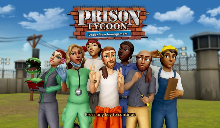 Prison Tycoon Under New Management - Title Image