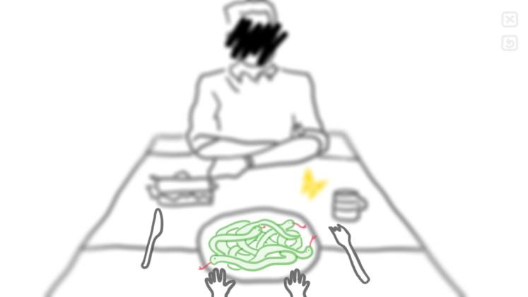 Alzheimer's: Memories Screenshot - Dinner with somebody