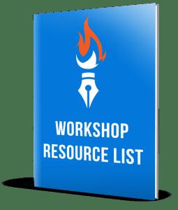 self publishing workshop resource list