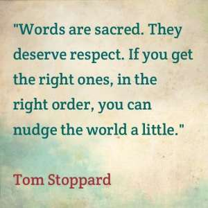 Respect words