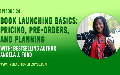 028: Book Launching Basics: Pricing, Pre-Orders and Planning