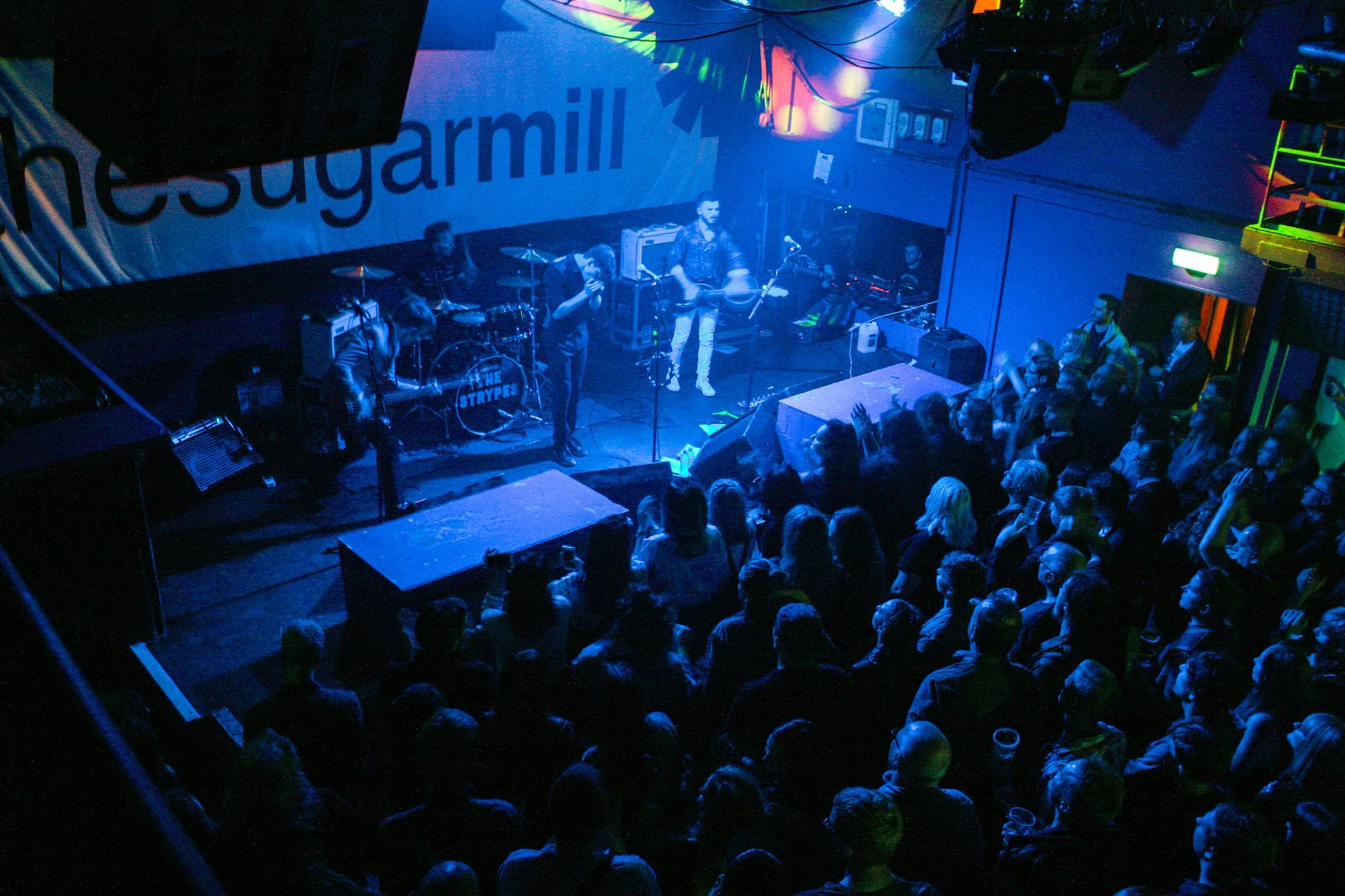 The Strypes performing at Stoke-on-Trent's Sugarmill.