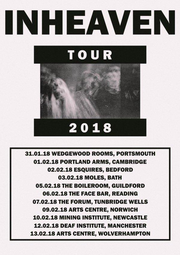 inheaven tour dates 2018