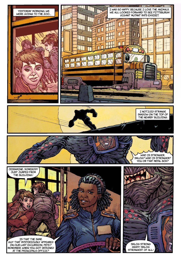 indie comic news, Asylum Press Successfully Crowdfunds WARLASH: COLD METAL MAYHEM AND BIOBURDEN on Kickstarter, The Indie Comix Dispatch