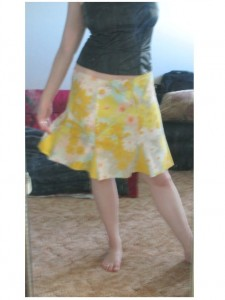 skirt tutorial pattern godet pillowcase