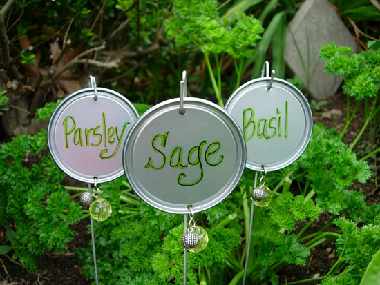 DIY Garden or Plant Markers – Indie Crafts