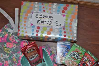Saturday Morning in a Box – Make the Best of Everything