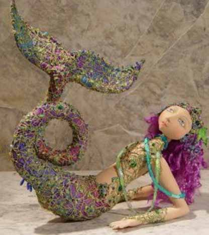 Scylla Mermaid Doll