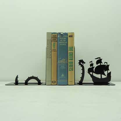 Sea Serpent Bookends