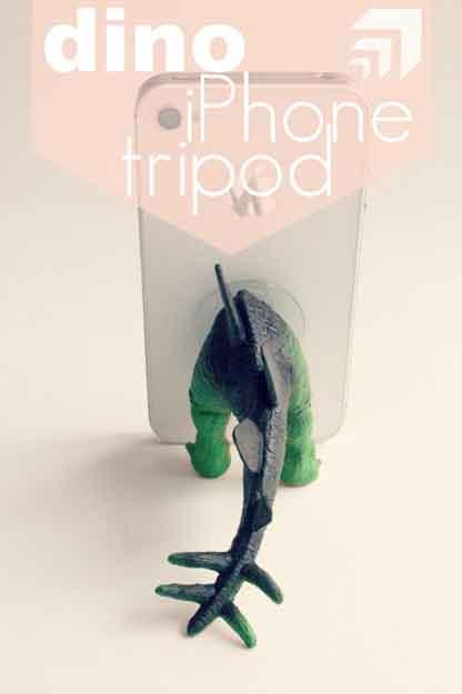 Dino Tripod EatSleepMake