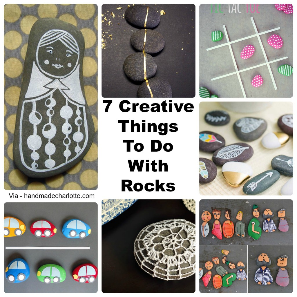 7 creative things to do with rocks indie crafts for Ideanature