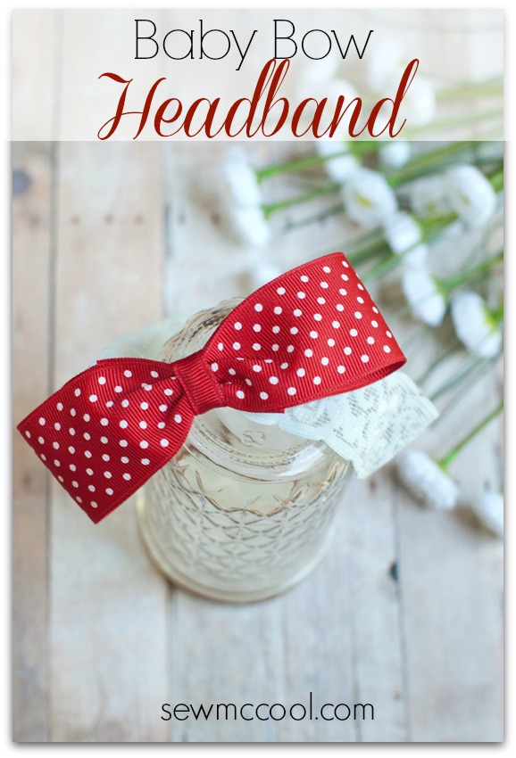 Diy Baby Bow Headband Indie Crafts