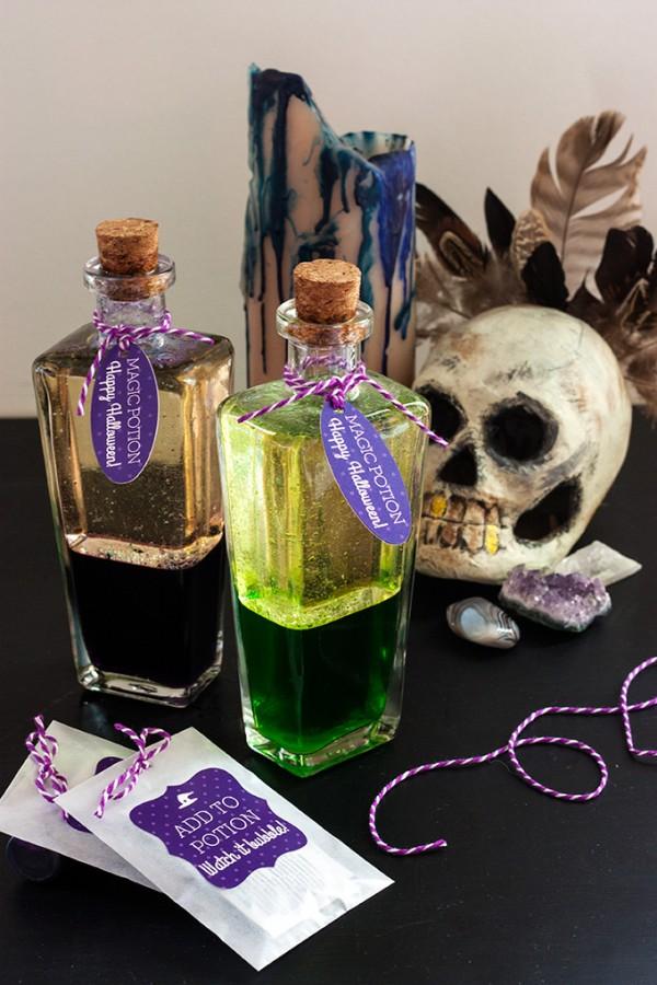 Diy Magic Potion Bottles Indie Crafts
