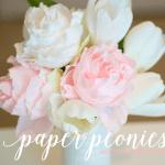 Paper Peony Tutorial