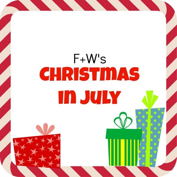 christmas july sale