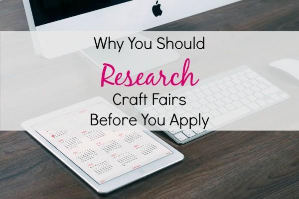 craft fair research