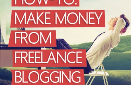 5 Steps To Making Money From Freelance Blogging By The End Of The Month