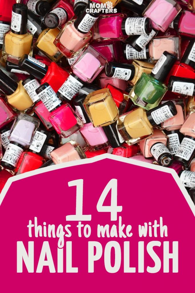 14 nail polish crafts indie crafts for Nail polish crafts