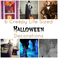 6 Creepy Life Sized Halloween Decorations