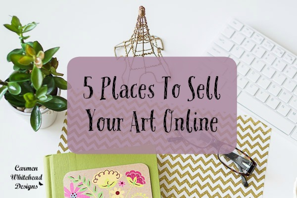 5 places to sell your art online indie crafts for Websites to sell artwork